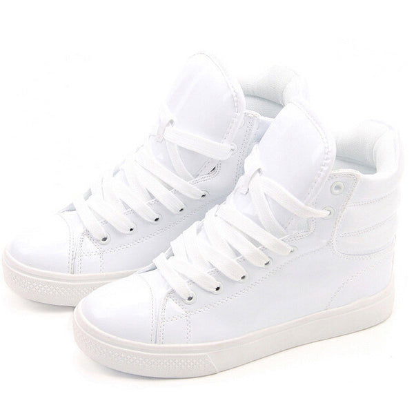Online discount shop Australia - Lighted Candy Color High-top Shoes Men Women's Fashion Shoes Flat Platform Shoes Couple Shoes XWB001
