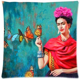 Online discount shop Australia - Cushion Cover Pillow Case Firm Flower self-portrait Sofa Butterfly Bedroom Home Decorative Throw Pillow Cover