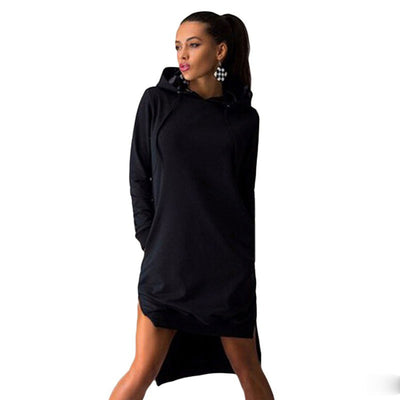 Pockets Pullover Women's Suits Laides Hoodies Dress Tracksuit Women Hoodies Sweatshirt Casual