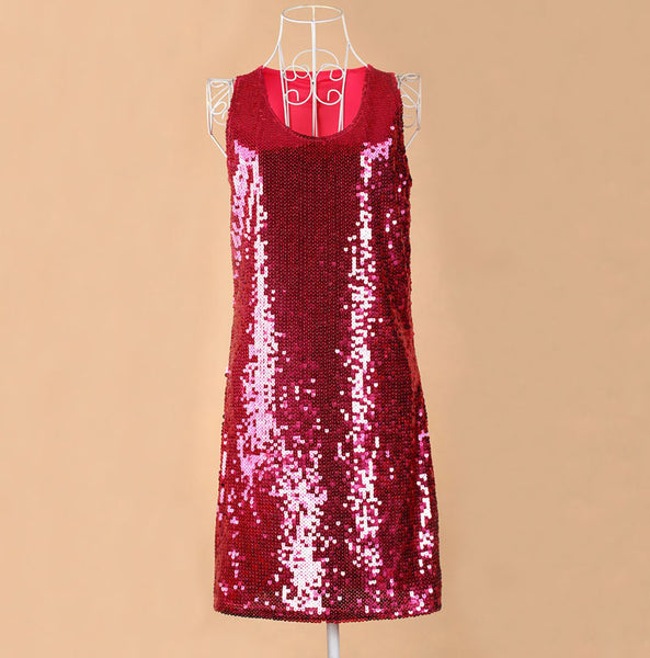 Online discount shop Australia - European style beautiful shinning Bling Bling Sequin lady club dress, Russian apparel vestidos Dropshipping