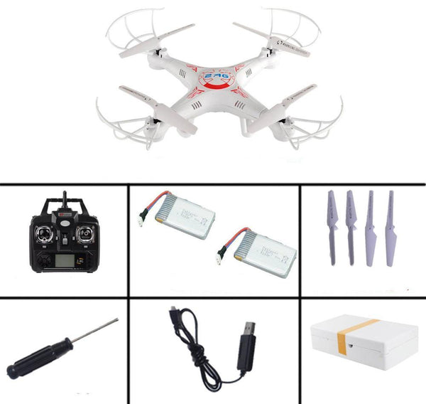 Online discount shop Australia - New Arrival X5C-1 2.4G 4CH 6-Axis Professional Aerial RC Helicopter Quadcopter Toys Drone With 0.3MP HD Camera Kids Gifts