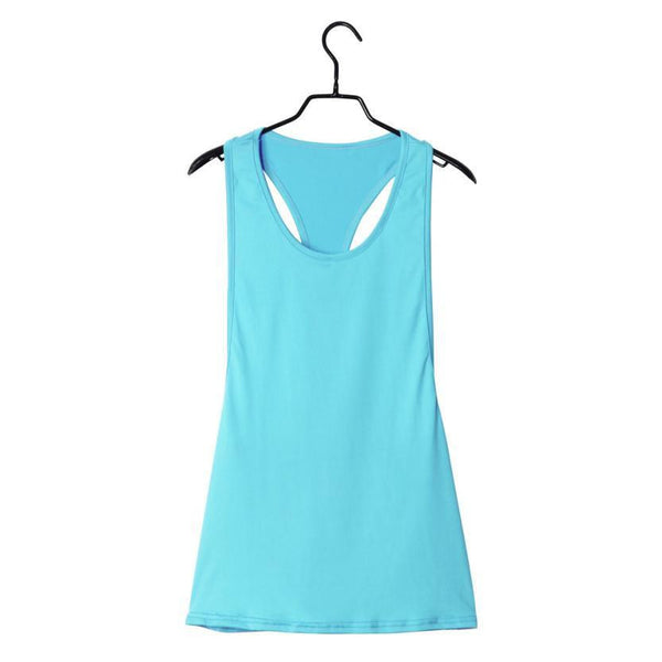 Sexy Fitness Clothes Women Tank Tops Loose Workout Sleeveless Quick Dry Vest Singlet For Women T-shirt