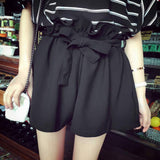 NEW Fashion Women Lady Sexy Shorts  Casual Bow Shorts High Waist Short Beach