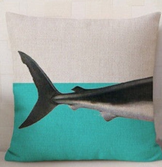 Online discount shop Australia - Animal Elaphant Series Cushion Combination Throw Pillow Shark Cachalot Cushion Home Decorative Pillows 43*43 CM HH016