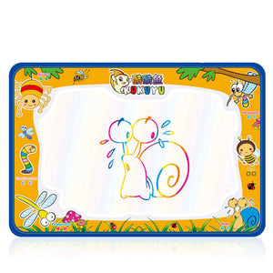 Online discount shop Australia - 50x34cm Baby Kids Add Water with Magic Pen Doodle Painting Picture Water Drawing Play Mat in Drawing Toys Board Gift Christmas