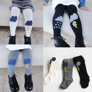 Online discount shop Australia - Cute Rain Weather Tights Cotton Children Baby Girl Stocking Kid Toddler Pantyhose For 0-5 Years