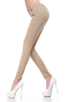 Women's Slim Pencil Pants Candy Colors slacks girl's Stretch Trousers Elastic big Size thin Leisure pants