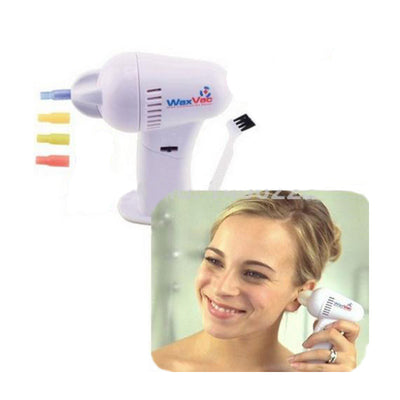 Online discount shop Australia - 1pcs WAXVAC CORDLESS VACUUM EAR CLEANING SYSTEM CLEAN EAR WAX VAC AS SEEN ON TV