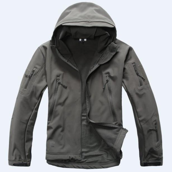 TAD V 4.0 Lurker Shark Skin Military Tactical Softshell Jacket Men Windbreaker Waterproof Hoodie Clothes