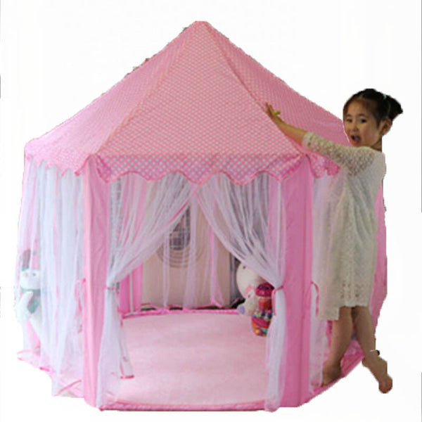 Online discount shop Australia - Children's Play Tent Gift Princess Castle Toy Tents Kids Inflatable Play House Lodge Ball Pool Best Gift