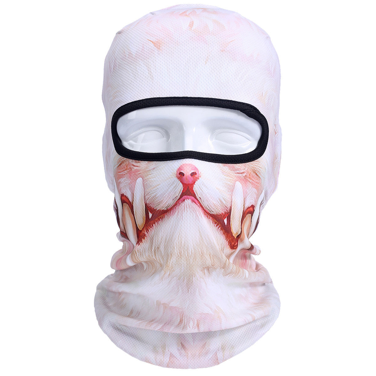 3D Cat Dog Animal Outdoor Bicycle Cycling Motorcycle Skis Hats Balaclava Sports Cat Dog Tiger Party Halloween Pet Full Face MaskBNB43a