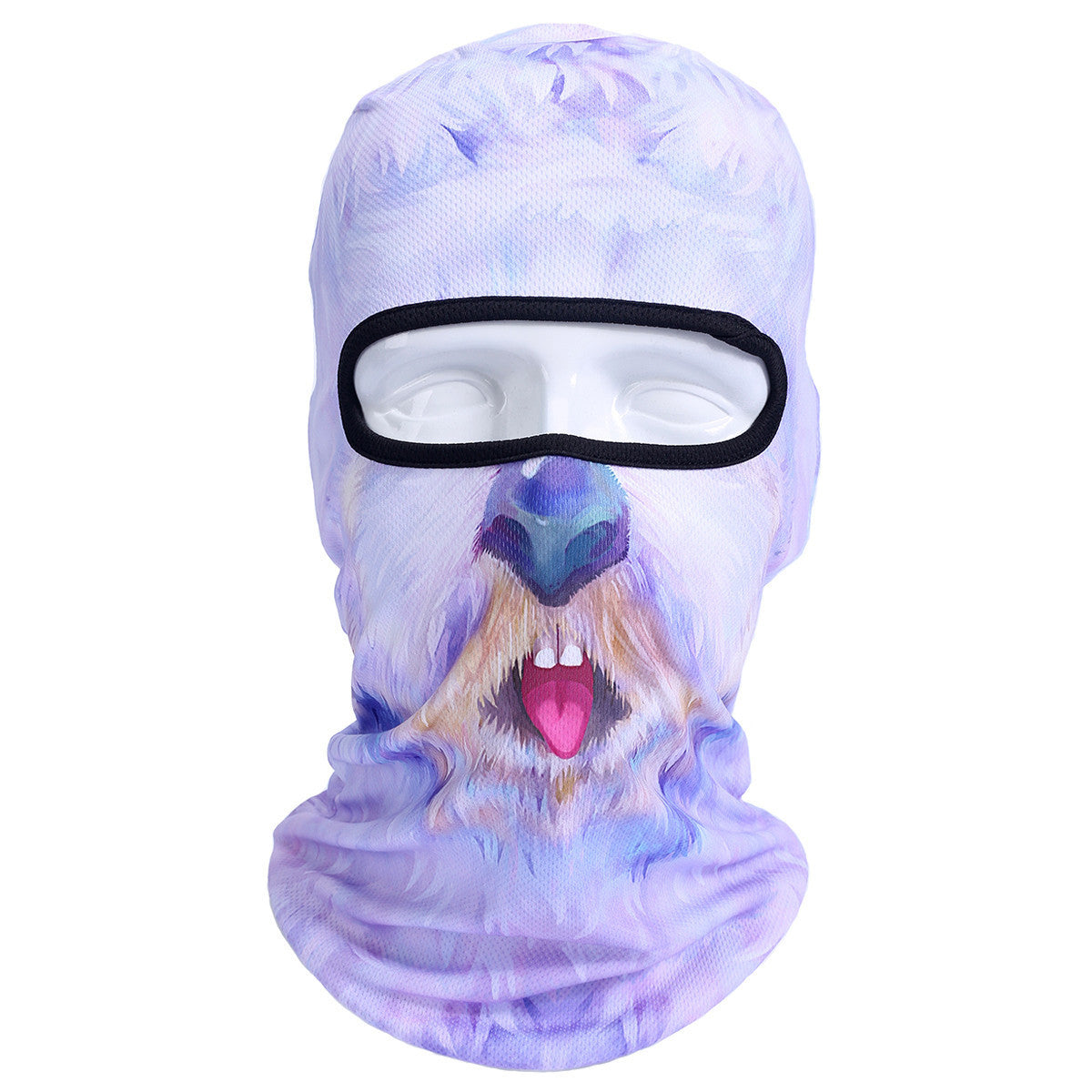 3D Cat Dog Animal Outdoor Bicycle Cycling Motorcycle Skis Hats Balaclava Sports Cat Dog Tiger Party Halloween Pet Full Face MaskBNB44a