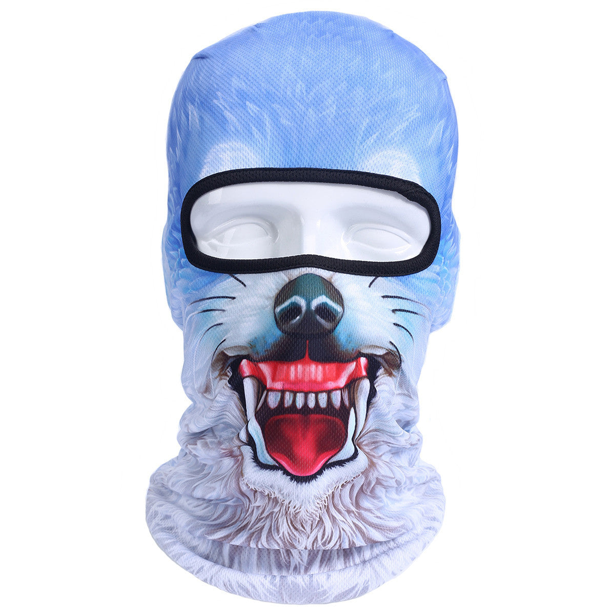 3D Cat Dog Animal Outdoor Bicycle Cycling Motorcycle Skis Hats Balaclava Sports Cat Dog Tiger Party Halloween Pet Full Face MaskBNB45a