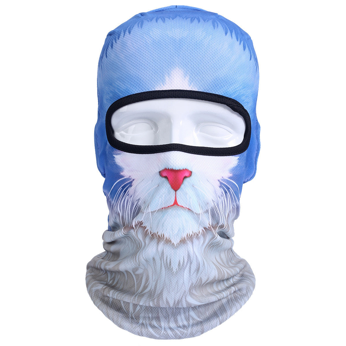 3D Cat Dog Animal Outdoor Bicycle Cycling Motorcycle Skis Hats Balaclava Sports Cat Dog Tiger Party Halloween Pet Full Face MaskBNB53a