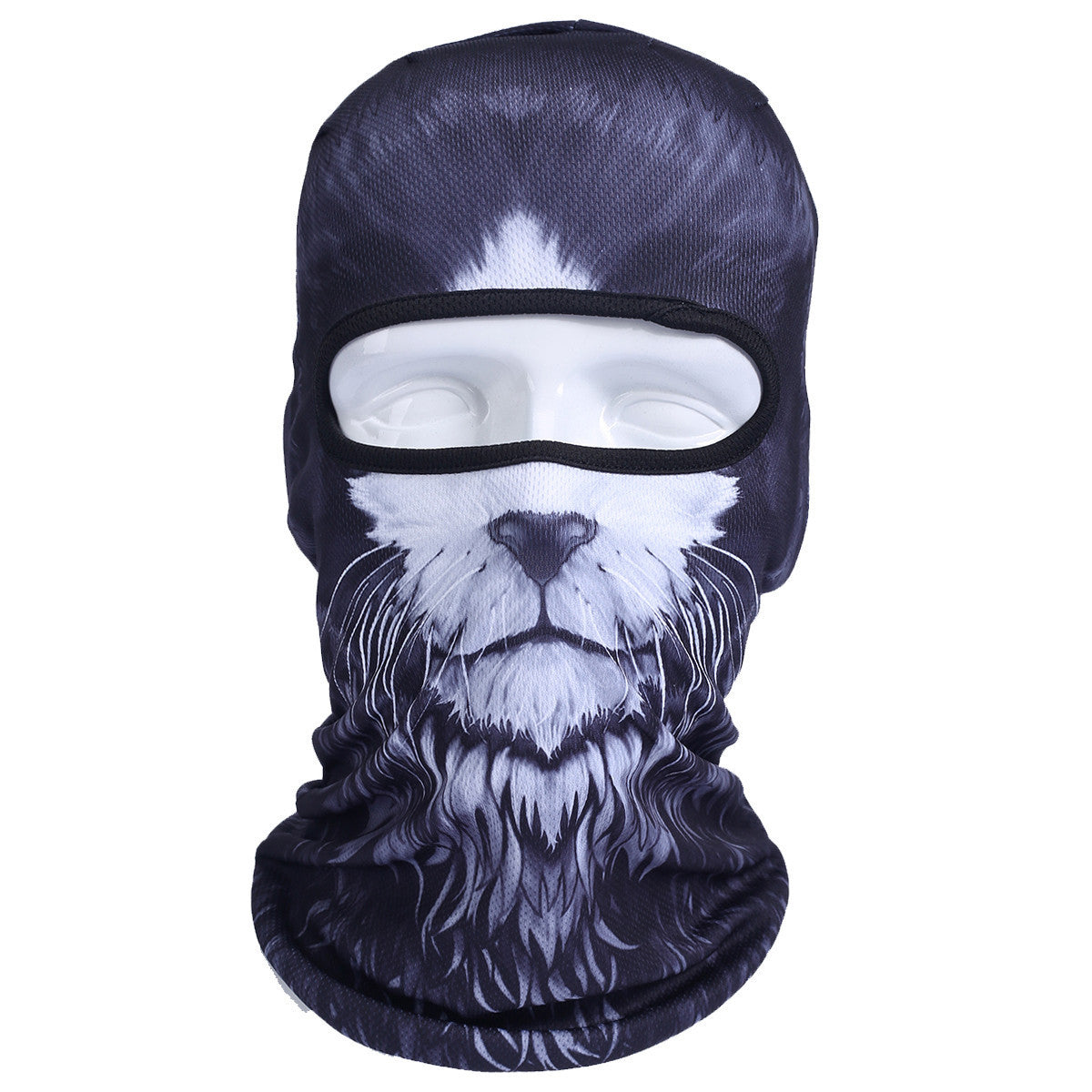 3D Cat Dog Animal Outdoor Bicycle Cycling Motorcycle Skis Hats Balaclava Sports Cat Dog Tiger Party Halloween Pet Full Face MaskBNB54a