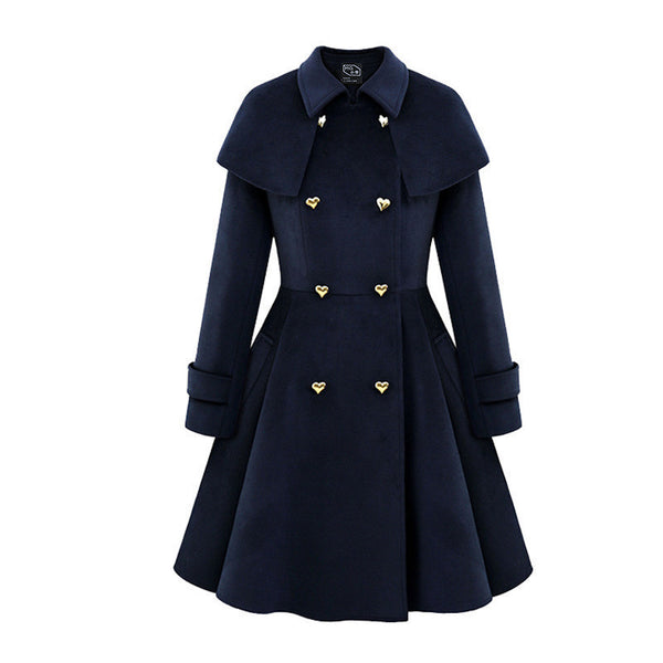 Online discount shop Australia - ANBYC  and  new cloak long jacket coat