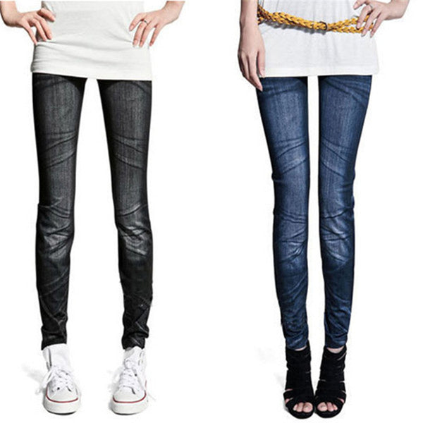 Online discount shop Australia - Fashion Ladies Denim Sexy Skinny Jeans Jegging Tights Stretch Pants Trousers
