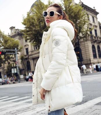 Plus-Size New Long Parkas Female Women Coat Thick Cotton Women Outwear Parka For Women