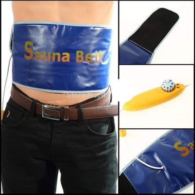 Online discount shop Australia - Heating Beauty Slimming Health Care Body Tummy Waist Sweat Massager Massage Sauna Exercise Wrap Belts Fat Cellulite Burner