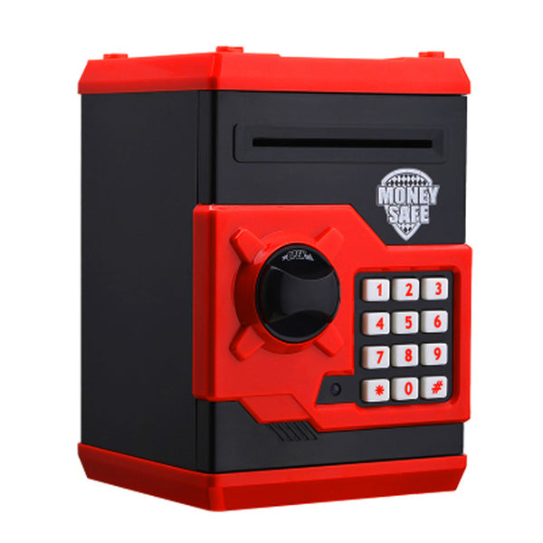 Online discount shop Australia - Creative Design Red Metal Piggy Money Telephone Booth Kids Coin Saving Pot Box Money Saving Box Best Selling 185 x 130 x 120 mm