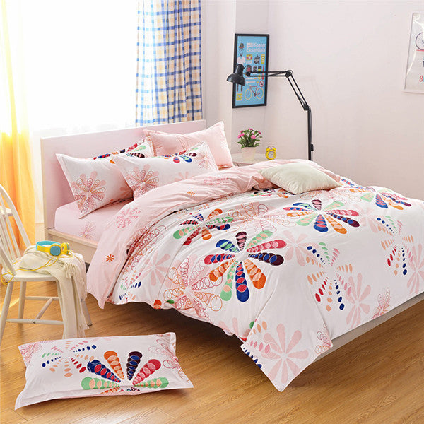new style fashion style queen/full/twin size bed linen set bedding set sale bedclothes duvet cover bed sheet pillowcases