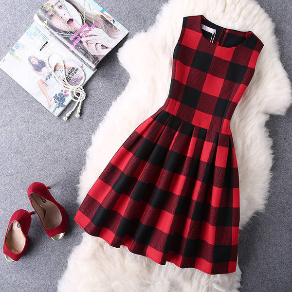 Online discount shop Australia - Dress Plus Size Women Clothing Sleeveless Casual Dress for Women Elegant Party Dresses Female