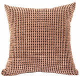 Square Velvet Throw Cushion Home Bed Decor Multi-Colors