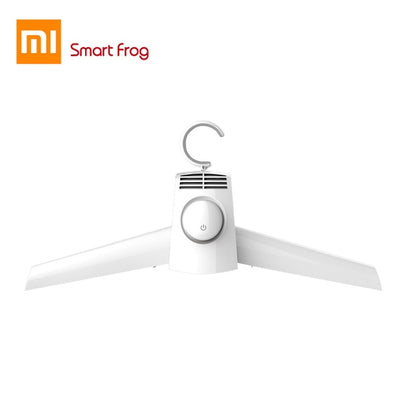 Original XiaoMi MIjia Smart Frog Portable Clothes Dryer Electric Shoes Clothes Drying Rack Hangers Foldable heater hanger