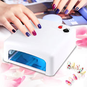 Professional Gel Nail Dryer High quality 36W UV Lamp 220V EU Plug Led Nail Lamp Curing Light Nail Art Dryer tools