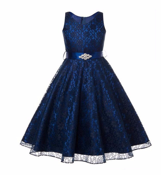 Online discount shop Australia - Girls party dress new designer children teenagers prom ceremonies gowns dresses birthday princess dress 12 years