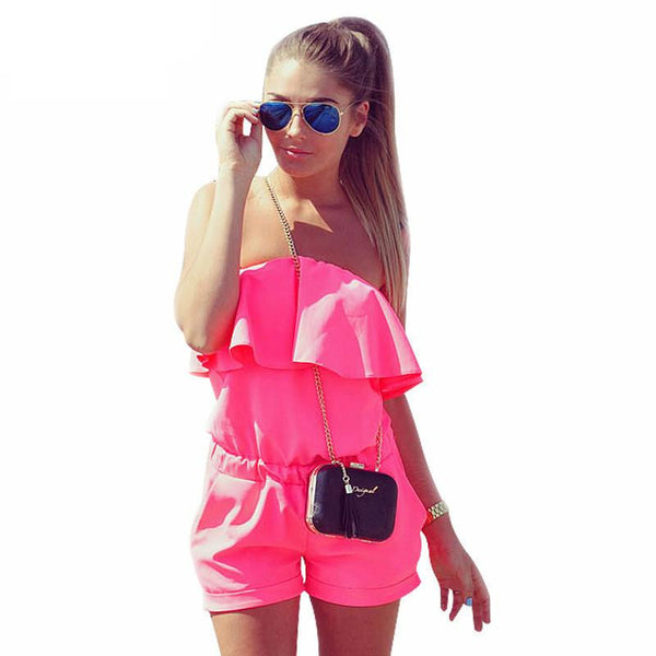Summer New Women's Fashion Red Slim Dress Sexy Off Shoulder Strapless Slash Neck Mini Dresses Plus Size