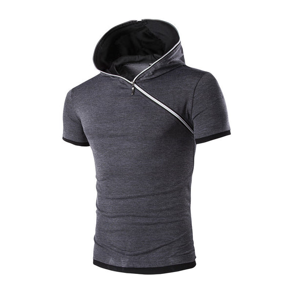 Online discount shop Australia - Mens Polo Shirt Short-Sleeve Solid Polo shirt Men Polo Homme Slim Mens Clothing Camisas Hooded Camisa Polo Shirt 6Color