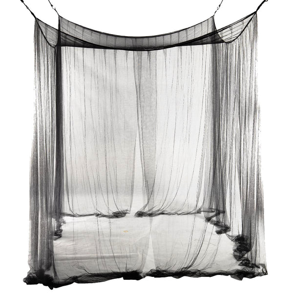 Online discount shop Australia - Boutique 4-Corner Bed Netting Canopy Mosquito Net for Queen