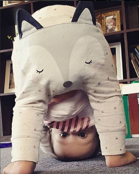 Online discount shop Australia - Baby Boys Girls Pants Kids Clothing Cotton Baby Long Trousers Baby Girl Harem Pants Baby Boys Girls Clothing