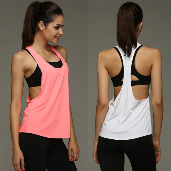 Online discount shop Australia - New  Vest Sexy Tank Tops Women Plus Size Quick Dry Loose Sleeveless Vest Singlet T-shirt female