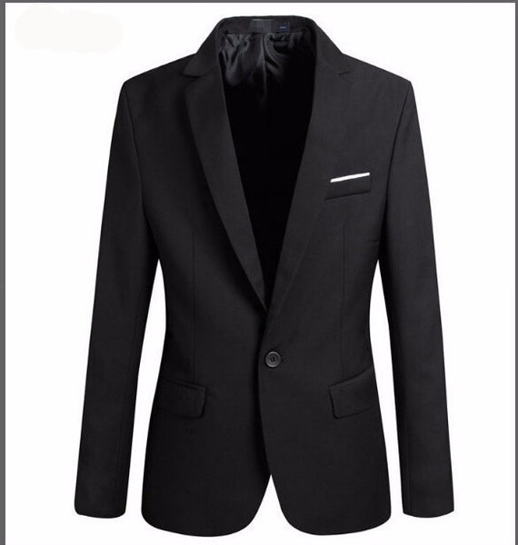Online discount shop Australia - Casual Blazer Men Fashion Plus Size Business Slim Fit Jacket Suits Masculine Blazer Coat Button Suit Men Formal Suit jacket