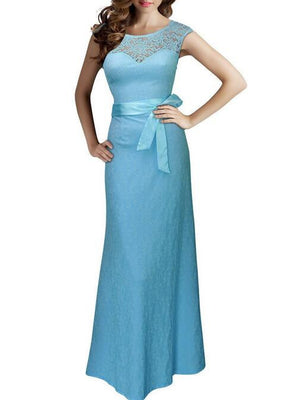 561801787cff6 Lace Pinup Mermaid Maxi Dress New Summer Women Sexy Belted Backless  Sleeveless Long Party Dresses Plus Size Vestido De Renda