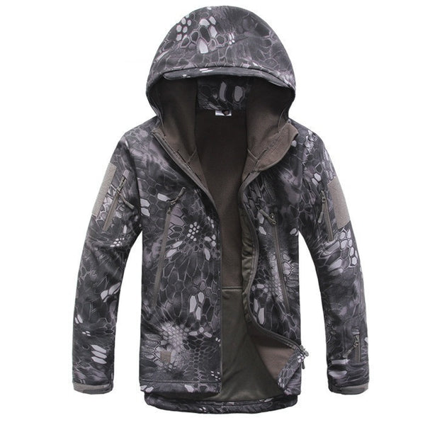 Online discount shop Australia - Lurker Shark Skin Soft Shell V4 Outdoors Military Tactical Jacket Men Waterproof Windproof Coat Hunter Camouflage Army Clothing