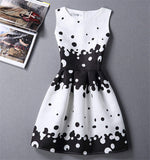 Women Summer Dress Vintage Jacquard Printed Sexy Party Ladies Bodycon Clothing Mini Dresses PDRSB2