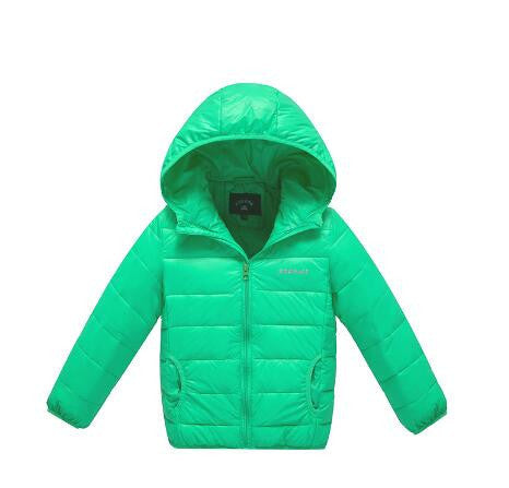 Online discount shop Australia - New baby boy and girl clothes children's thick warm down jackets kids sports hooded outerwear 11 color