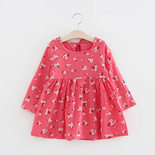 Online discount shop Australia - Cartoon Cherry Long Sleeve Girls Princess Dress Children Girl Bow Veil Tutu Cute Wing Party A Line Dress Infant Girls Clothes