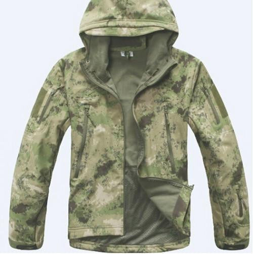TAD Gear Lurker Shark skin Soft Shell TAD V 4.0 Outdoors Military Tactical Jacket Waterproof Windproof Army Clothing