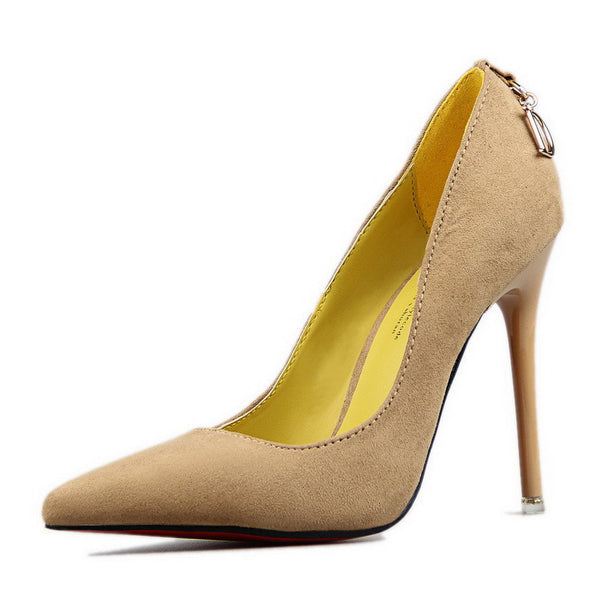 Red Bottom High Heels Wedding Shoes Women Pumps Fashion Women Shoes Woman  Sexy Pointed Toe Thin 1296a937f8d4