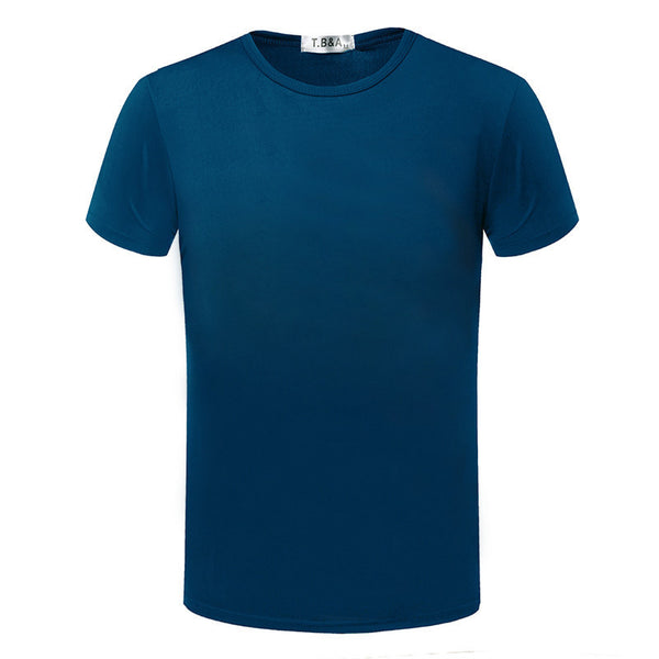 Online discount shop Australia - Fashion Brand New T shirt Men's Shorts Sleeve O-neck male Tops Tees Casual T-shirt For Man TX80-An-R1