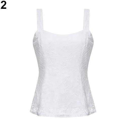 Sexy Women's Fashion Lace Floral Bodycon Strap Sleeveless Tank Top Vest New Arrival