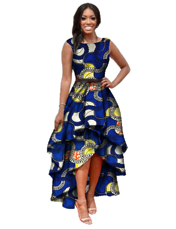f022c88a27e african clothes for women o-neck african embroidery bazin dress Dashiki  women dress cotton african
