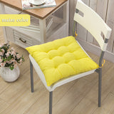 Online discount shop Australia - 11 Colors Solid Cushion Mat Cotton Chair Seat Pads With Cord 40*40CM For Patio Home Car Sofa Office Tatami Decoration