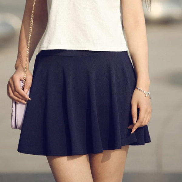 Woman Shorts Skirt Fashion High Waist Sexy Office Lady Skirts Female Elastic Mini Skirt Women Skirt SK004