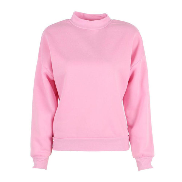 Women Hoodies Casual Sweatshirt Pullover Candy Hoodies Coat Jacket Outwear Tops