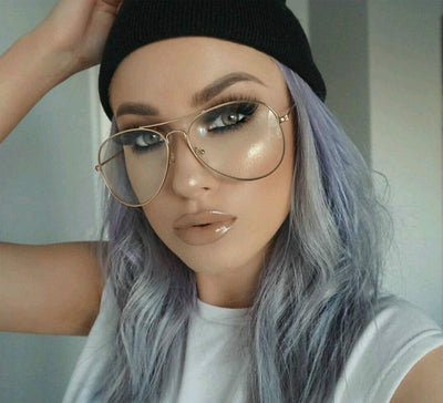 63ecb4606fca Online discount shop Australia - Fashion Brand Designer Gold Eyewear Frames  Women Glasses Clear Lens Optical